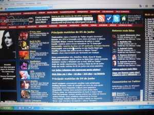 Resenha entre as principais notícias do dia no Whiplash!; clique para ampliar
