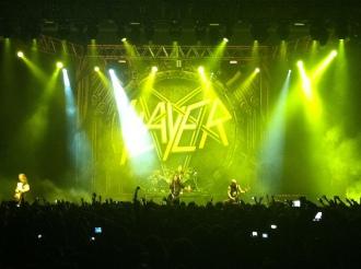 Slayer em SP - Foto: Divulgação/Midiorama