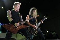 Metallica no Rock in Rio - James e Kirk - Foto: Divulgação Metallica