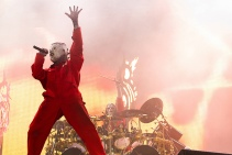 Slipknot no Rock in Rio - Corey Taylor e Joey Jordison - Foto: Divulgação/RiR