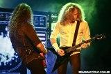 Megadeth em SP - Chris Broderick e Dave Mustaine - Foto: Renan Facciolo, gentilmente cedida ao Roque Reverso