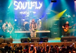 Soulfly em SP - Reprodução do YouTube