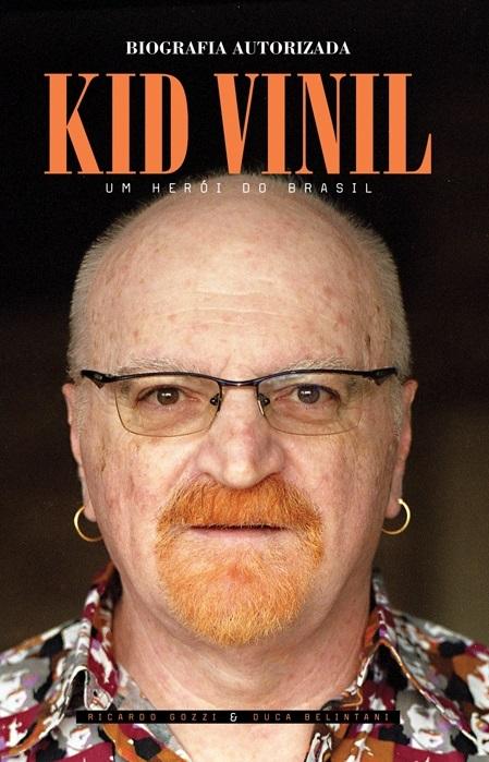 Kid Vinil - Biografia Autorizada - Reprodução de Capa