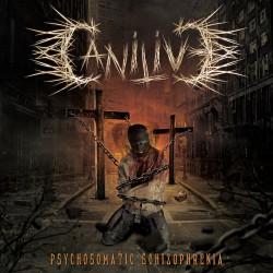 """Canilive - Reprodução da capa do EP """"Psychosomatic Schizophrenia"""""""