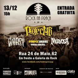 Rock na Praça - Cartaz de Divulgação