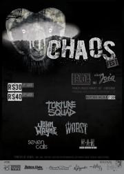 Chaos Fest - Reprodução do Cartaz de Divulgação