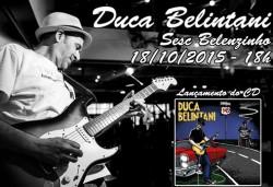 Duca Belintani no Sesc Belenzinho - Cartaz de Divulgação