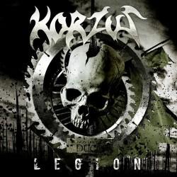 Korzus - Legion - Reprodução da capa