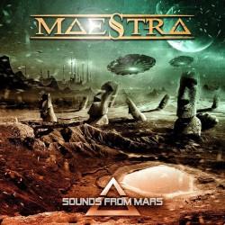 """Reprodução da capa do singles """"Sounds From Mars"""", do Maestra"""