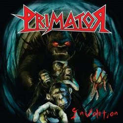 """Reprodução da capa do disco """"Involution"""", do Primator"""