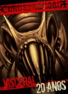 """DVD """"Visceral – 20 Anos"""" - Reprodução da capa"""