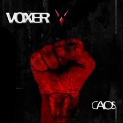 """Voxer - Reprodução da capa do disco """"Caos"""""""