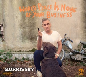 Morrissey - World Peace Album Art