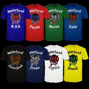 Motorhead - Camisetas - Reprodução