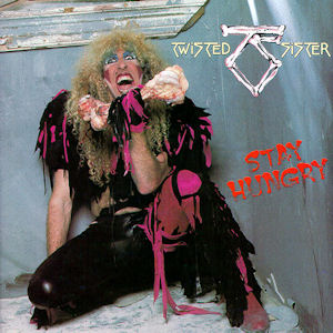 Twister Sister - Stay Hungry - Reprodução da capa