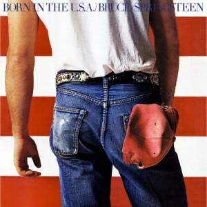 """""""Born in the USA"""" - Reprodução da capa"""