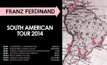 Franz Ferdinand - Turnê Sul-americana