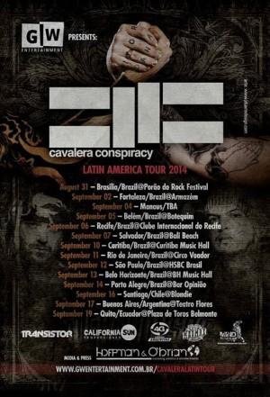 Cavalera Conspiracy - Cartaz de Divulgação