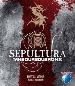 """Metal Veins - Alive At Rock in Rio"" - Reprodução da Capa"
