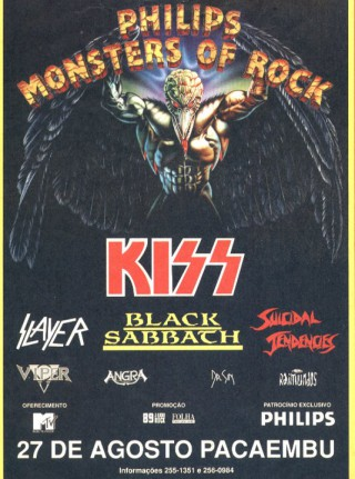 Monsters of Rock 1994 - Cartaz de Divulgação
