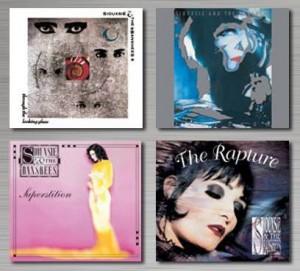 Siouxsie & The Banshees - Reprodução da capa dos 4 álbuns