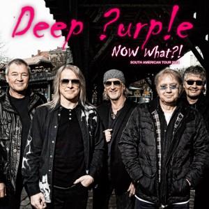 Deep Purple - Cartaz de Divulgação da Turnê SulAmericana