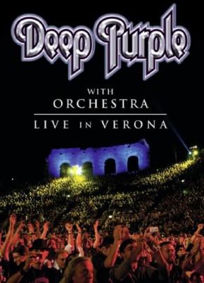 """Deep Purple - """"Live in Verona"""" - Reprodução da Capa"""