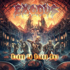 "Exodus - ""Blood In, Blood Out"" - Reprodução da Capa"