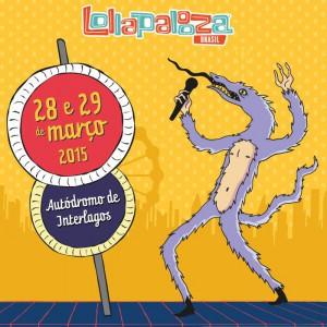 Lollapalooza 2015 - Arte: Divulgação