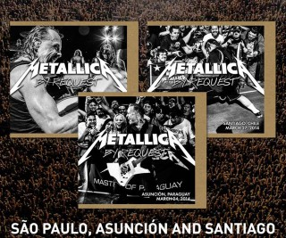 """Metallica CDs da Turnê """"By Request"""" - Reprodução"""