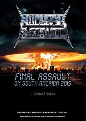 Nuclear Assault - Cartaz de Divulgação