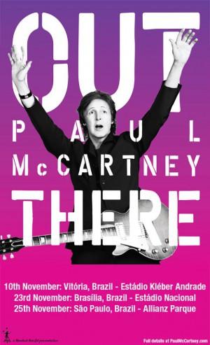 Paul McCartney - Cartaz de Divulgação/Reprodução