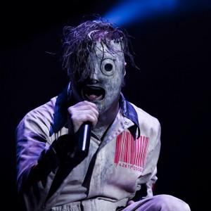 Slipknot - Corey Taylor - Foto:Divulgação