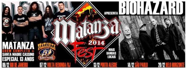 Matanza Fest - Cartaz de Divulgação