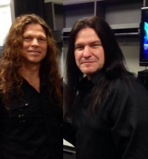 Chris Broderick e Shawn Drover