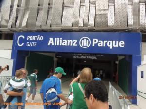 Allianz Parque - Porto de Acesso - Foto: Roque Reverso/Flavio Leonel