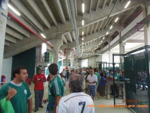 Allianz Parque - Área abaixo da Arquibancada - Foto: Roque Reverso/Flavio Leonel