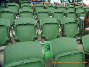 Allianz Parque - Detalhe das Cadeiras - Foto: Roque Reverso/Flavio Leonel