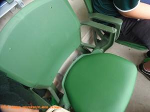 Allianz Parque - Detalhe da Cadeira - Foto: Roque Reverso/Flavio Leonel