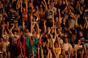 Público no show de Paul McCartney em SP - Foto: Divulgação Midiorama/Marcos Hermes