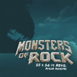 Monsters of Rock - Reprodução do Banner de Divulgação