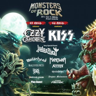 Monsters of Rock - Cartaz de Divulgação