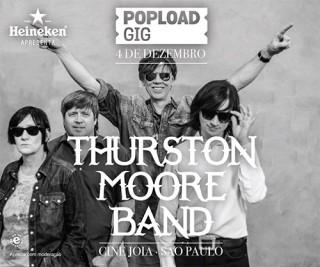 ThurstonMoore - MiniFlyer: Divulgação PopLoad Gig