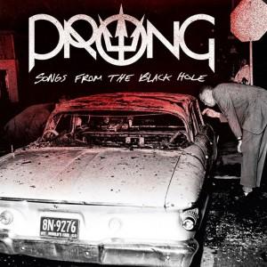 """Prong - Reprodução da capa de """"Songs From The Black Hole"""""""