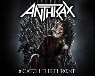 """Anthrax - Reprodução de desenho relacionado a mixtape """"Catch The Throne"""""""