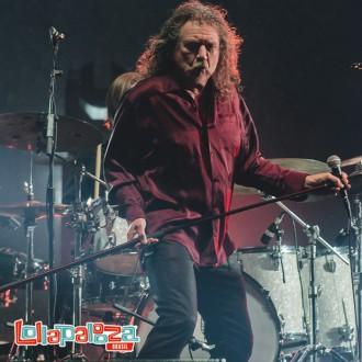 Robert Plant no Lollapalooza 2015 - Foto: Divulgação Lollapalooza