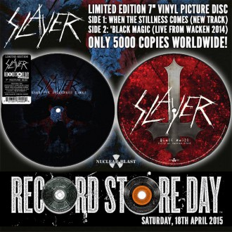 Slayer - Reprodução da Capa de Edição Limitada do novo single