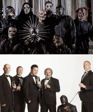 Slipknot e FNM - Fotos em Montagem