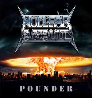 """EP """"Pounder"""" - Reprodução da capa"""