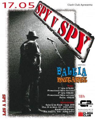 Spy Vs Spy - Reprodução do Cartaz do Show em SP